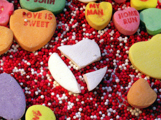 Candy may be the standard on Valentine's day, but the holiday can also be used to teach chemistry, art.