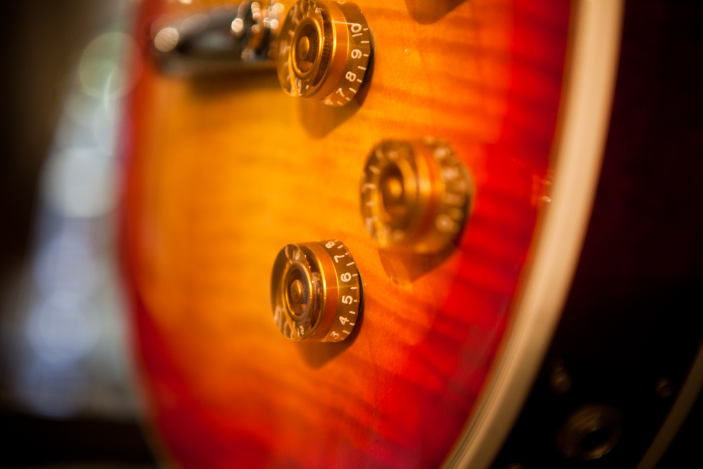 Les Paul created custom guitars for rock and roll heavyweights such as Eddie Van Halen.