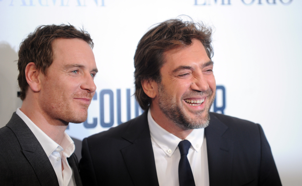 Michael Fassbender and Javier Bardem attend a special screening of