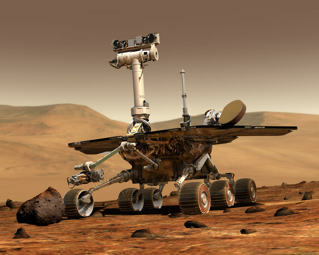The Obama Administration would rather see NASA focus on manned missions instead of planetary science expeditions such as the Mars rover, Opportunity.