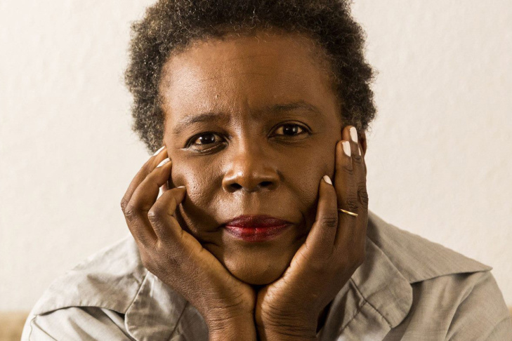 Poet Claudia Rankine, author of