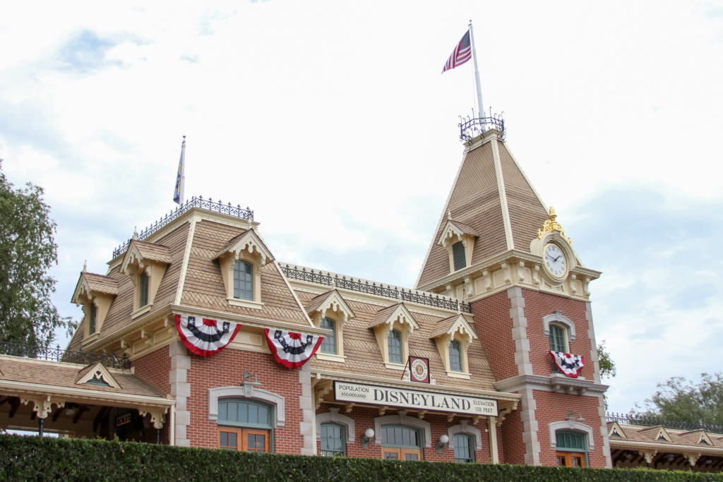 Disneyland's Main Street Station
