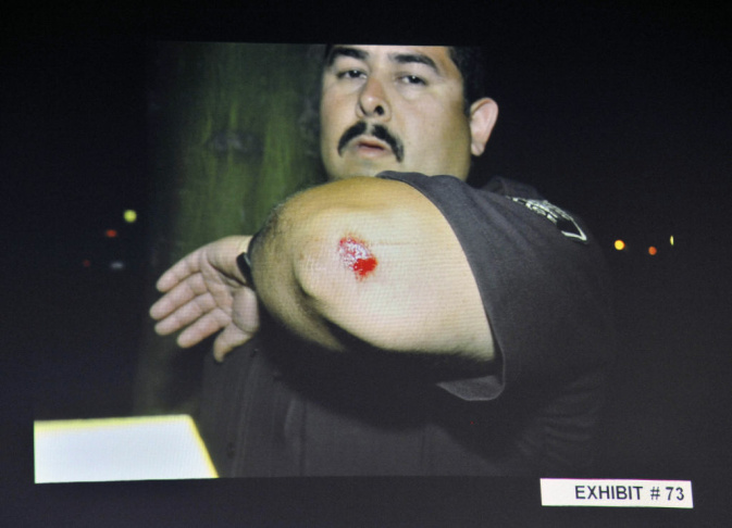 PLEASE NOTE: SEVERAL IMAGES IN THIS SLIDESHOW PORTRAY THE IMMEDIATE AFTERMATH OF THE BEATING DEATH OF KELLY THOMAS AND DISPLAY GRAPHIC VIOLENCE. 