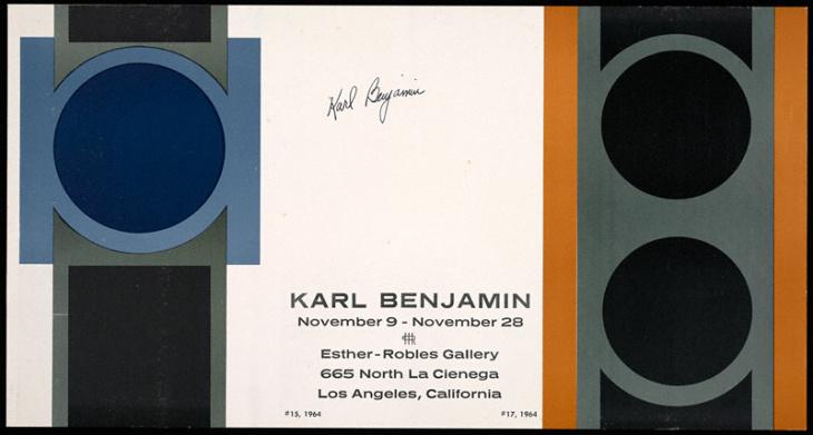Stage II, 1958, Karl Benjamin