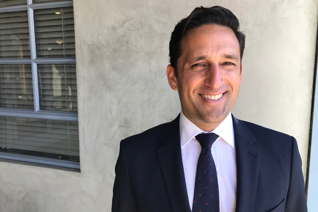 FILE PHOTO: Los Angeles City Council candidate Joe Bray-Ali has lost support as details of his past emerged weeks before the May 16 runoff election, but he has vowed to remain in the race.