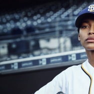 Promo pic for Fox's new show, Pitch, starring Kylie Bunbury (pictured)