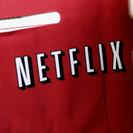 A Netflix return mailer is pictured in Miami, Florida 16 January 2007.
