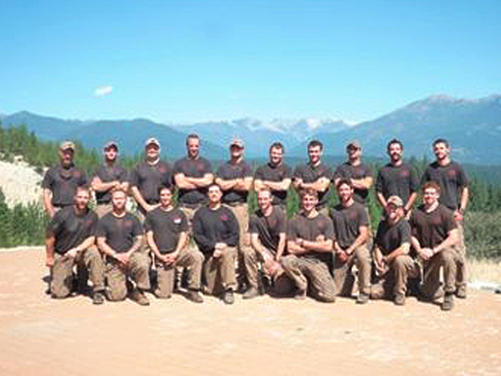 The Granite Mountain Interagency Hotshot Crew is shown in this undated handout photo provided by the City of Prescott in Arizona. The elite team of 19 firemen were killed on Sunday in one of deadliest U.S. firefighting disasters in decades as flames raced through dry brush and grass in central Arizona, destroying scores of homes and forcing the evacuation of two towns.