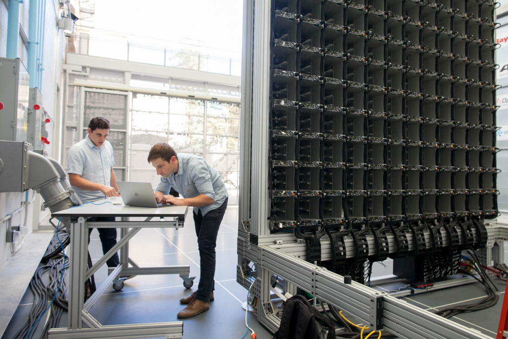 A look behind the scenes at Caltech's Center for Autonomous Systems and Technologies (CAST) including the Aerodrome, Assembly room and advanced mobility lab. (Photos/Susanica Tam)