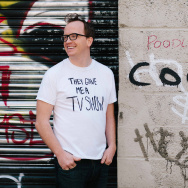 "Comedian Chris Gethard, host of ""The Chris Gethard Show"" on Fusion."