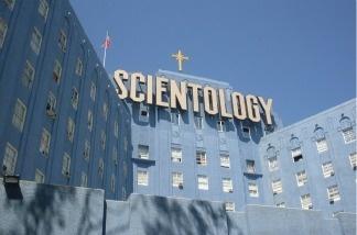 The Scientology building in Los Angeles, CA.