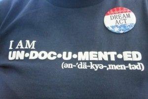 A student activist's t-shirt, December 2010