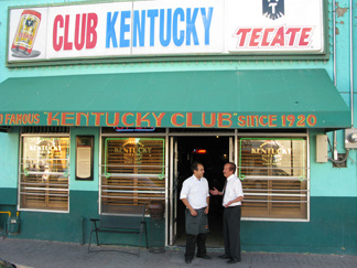 The Kentucky Club is three blocks from the international bridge connecting Ciudad Juarez and El Paso, Texas. It has lost more than 75 percent of its clientele due to people fleeing violence in the area, the owners say.