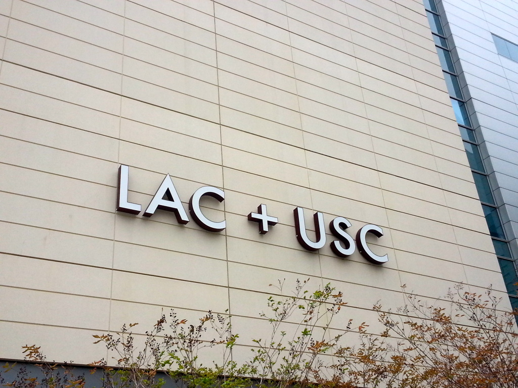 A file photo shows Los Angeles County/USC Medical Center.