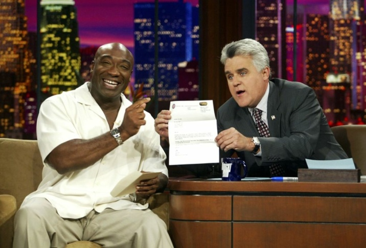 Michael Clarke Duncan Appears on The Tonight Show with Jay Leno