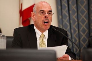 House Energy and Commerce Committee Chairman Henry Waxman (D-CA) delivers an opening statement during a Commerce, Trade, and Consumer Protection Subcommittee hearing about 'The Motor Vehicle Safety Act.' May 6, 2010 in Washington, DC.