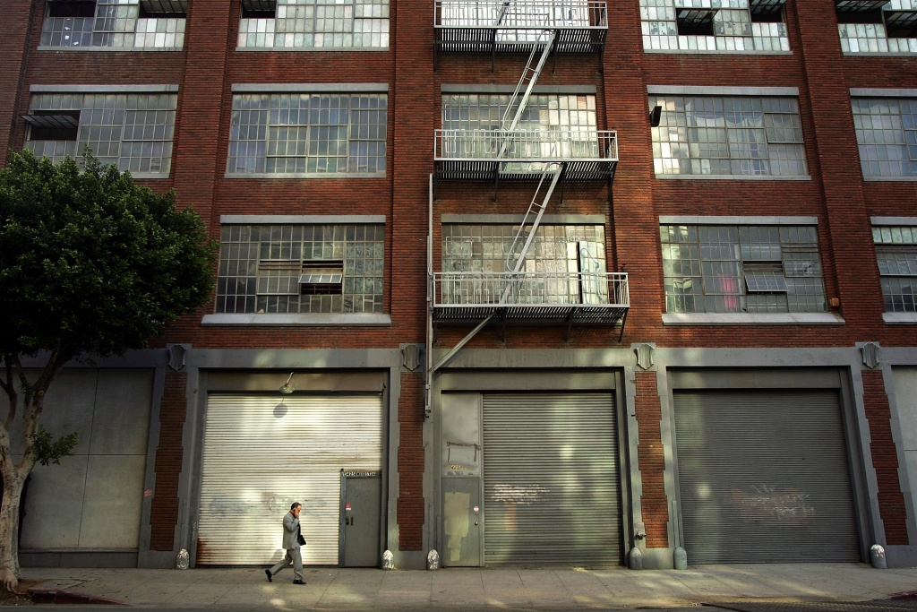 File photo of a L.A. building.