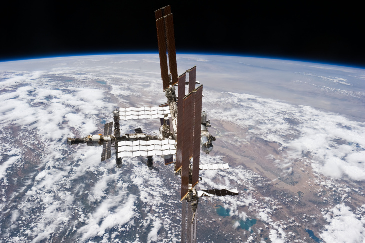 Space Station on July 29, 2011