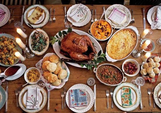 This is a traditional American feast but some other countries around the world also celebrate Thanksgiving.