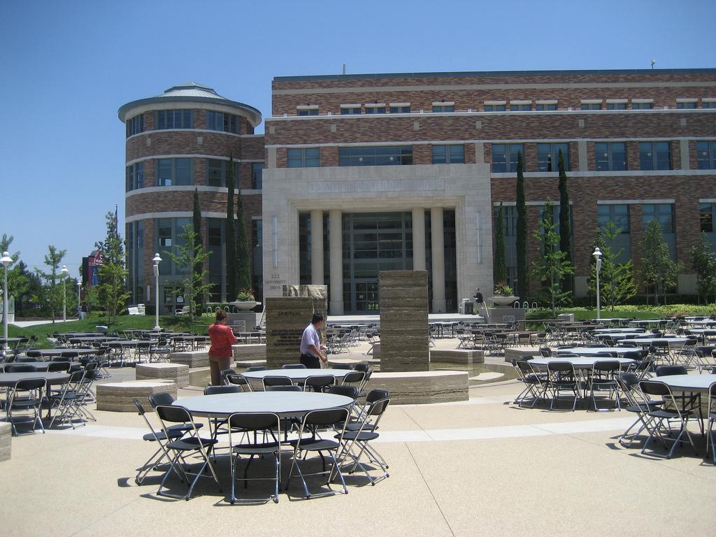 The Chapman University Library.