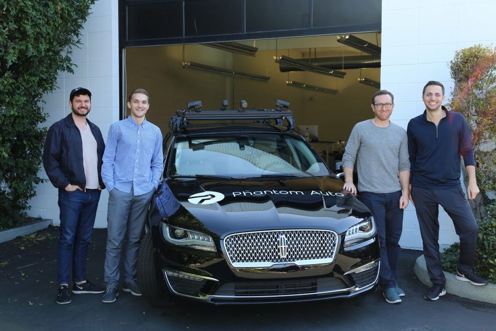 Phantom Auto is based in Silicon Valley and currently has contracts with at least five companies to take remote control of self-driving cars.