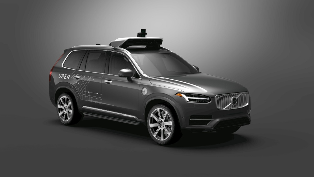 Volvo and Uber have partnered to develop self-driving cars