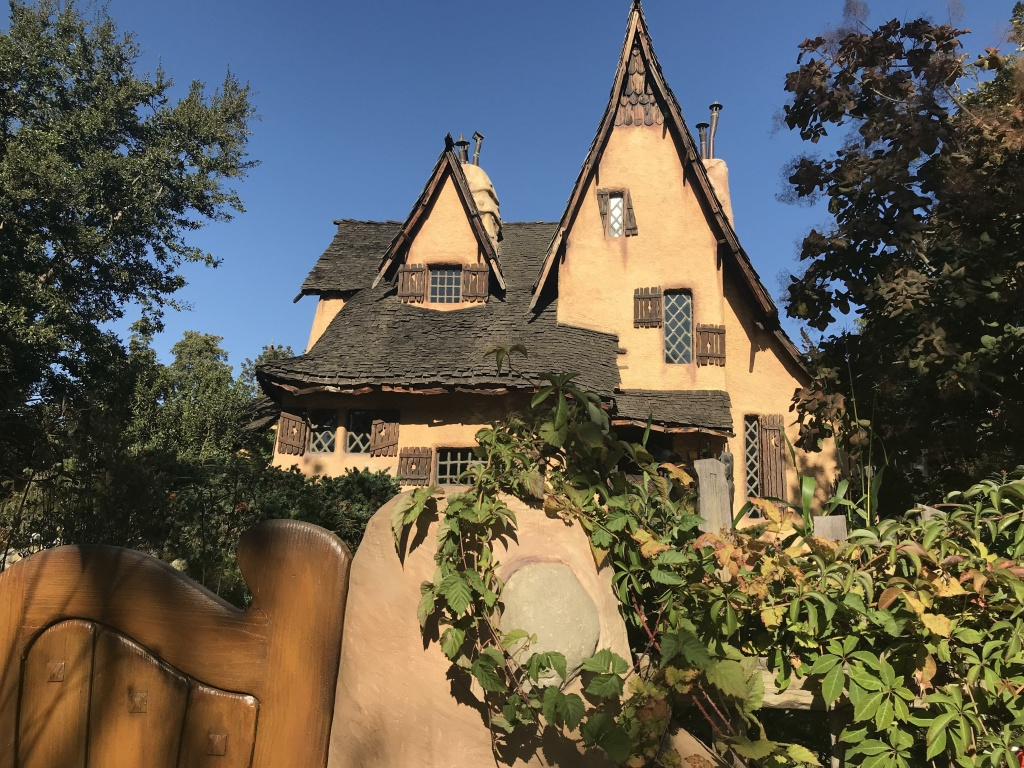 The front of the Spadena Witch House in Beverly Hills. Michael Libow has owned the home for almost 20 years.