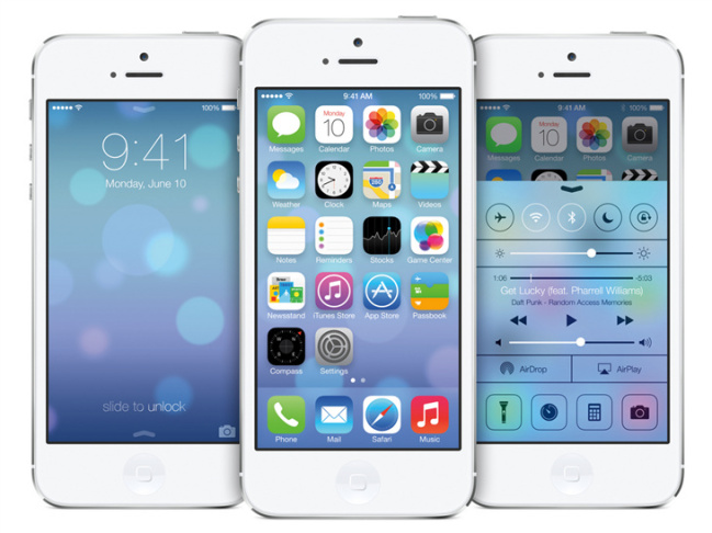 Apple unveiled its new mobile operating system, iOS 7.