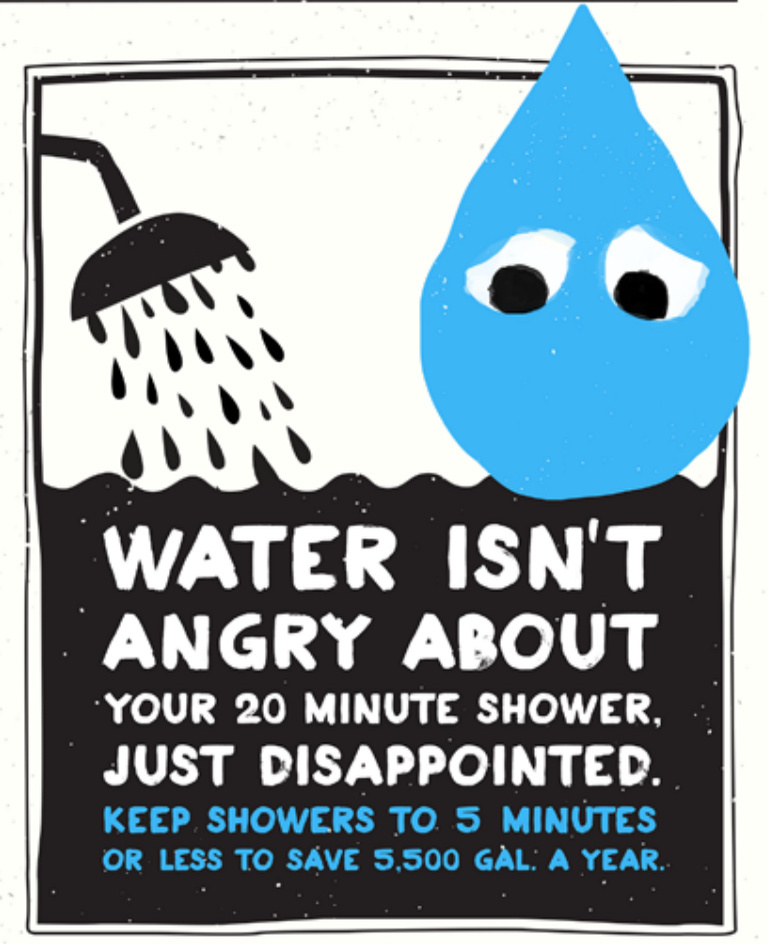 The mayor on Thursday, April 9, 2015, announced a campaign to encourage Angelenos to save more water. The campaign features an anthropomorphic blue water drop.