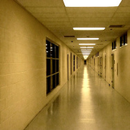 juvenile hall corridor