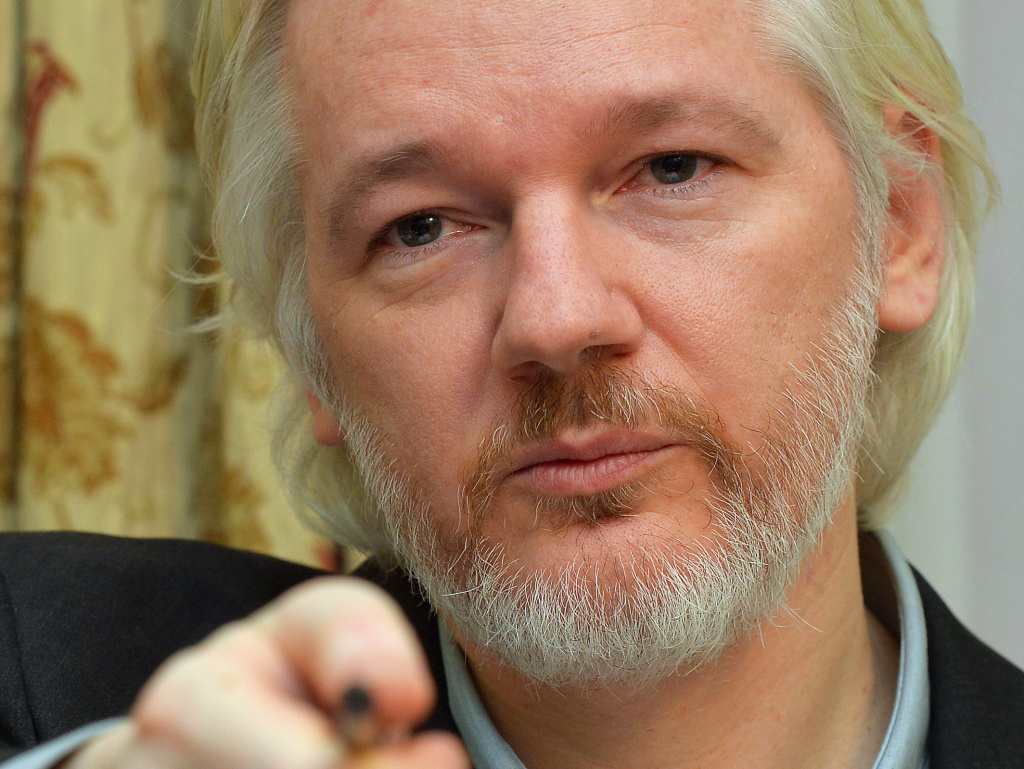 WikiLeaks founder Julian Assange attends a news conference at the Ecuadorian Embassy in London, in August. A Swedish appeals court on Thursday upheld a 2010 detention order against Assange on accusations of sexual assault.