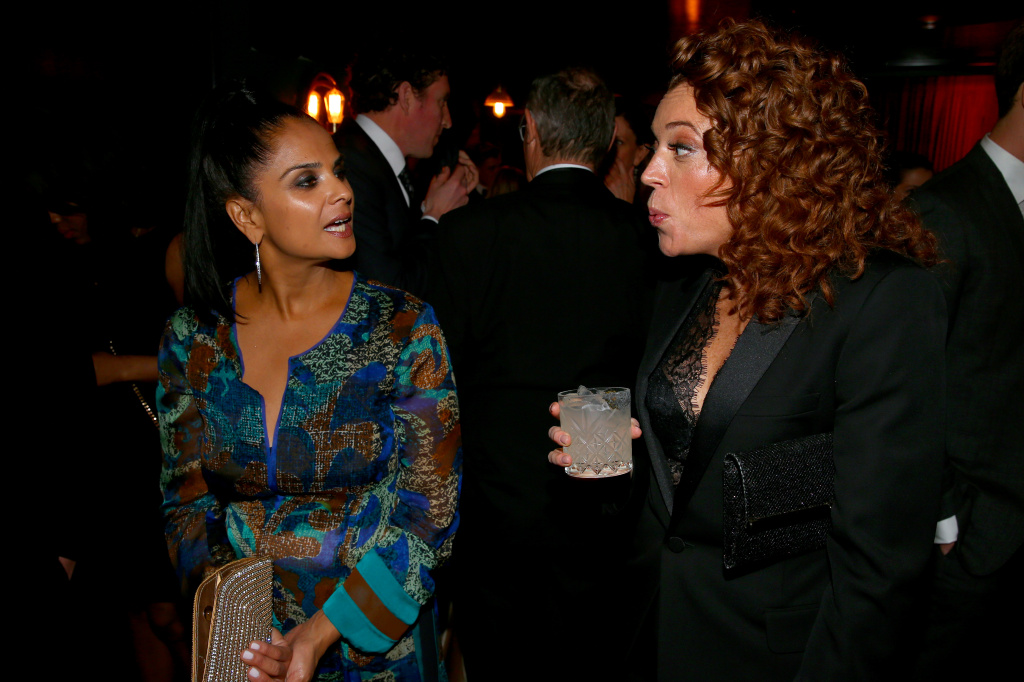 Bela Bajaria and Michelle Wolf attend the celebration after the White House Correspondents' Dinner on April 28, 2018 in Washington, DC.