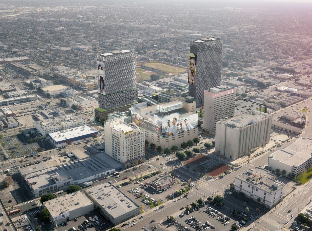 The City Council on Tuesday approved construction of the proposed Reef development in South LA.