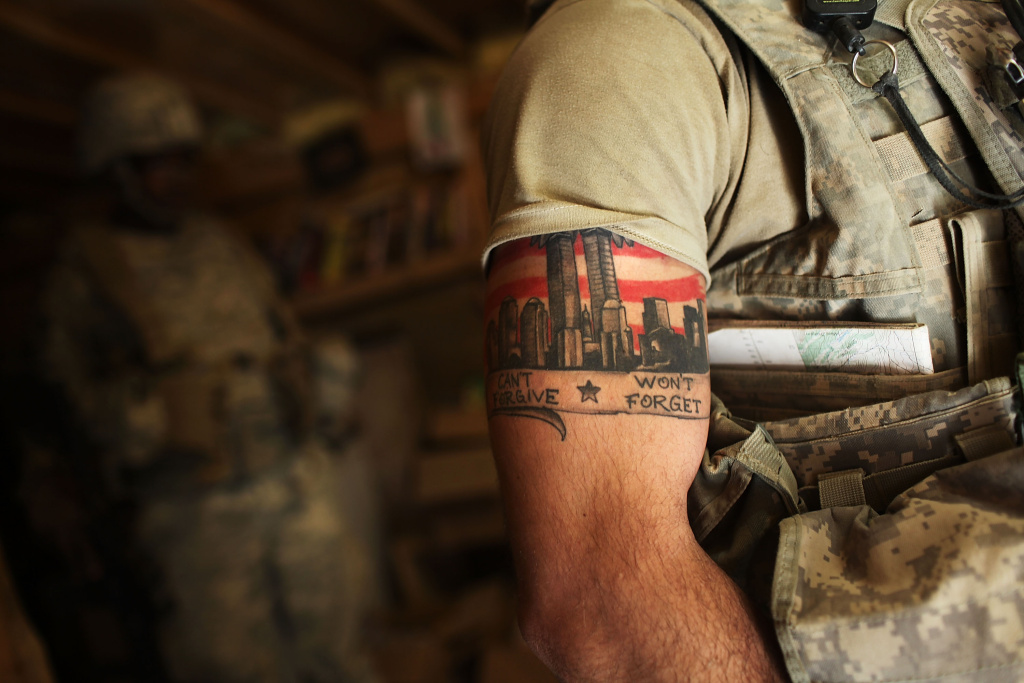 Would the army's new policy on tattoos make it even harder for the Army to bring new people in?