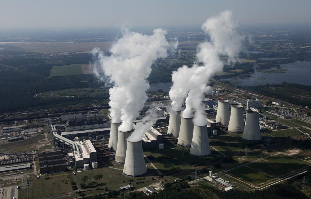 Coal power plants.