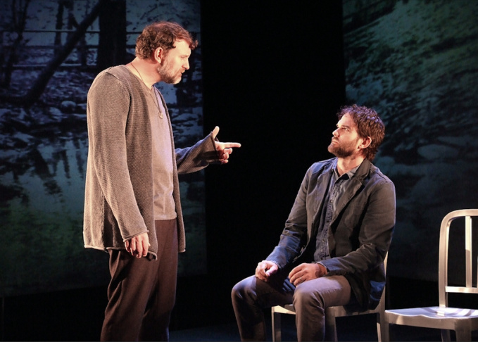 Tim Cummings, left, and Brian Henderson star in Dan O'Brien's newest play,