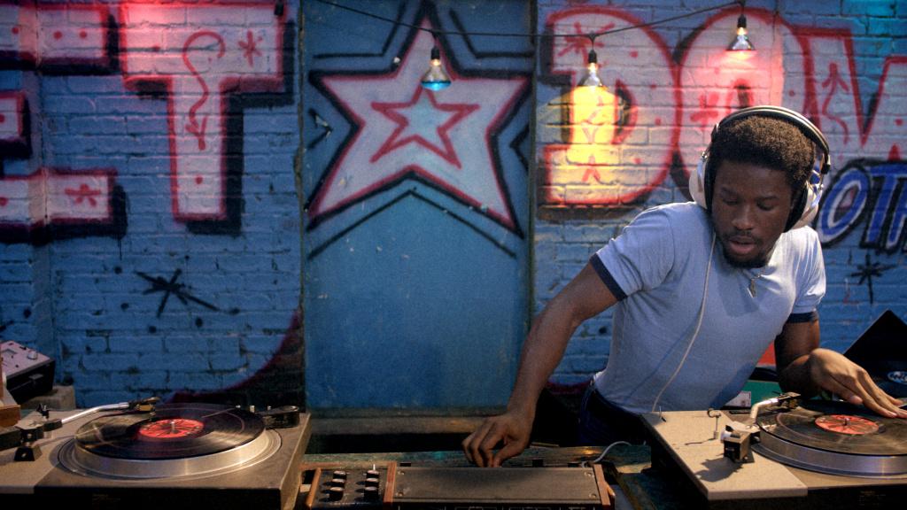 A still from Baz Luhrmann's hip hop series