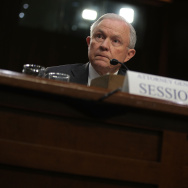 U.S. Attorney General Jeff Sessions testifies before the Senate Intelligence Committee on Capitol Hill June 13, 2017 in Washington, DC.