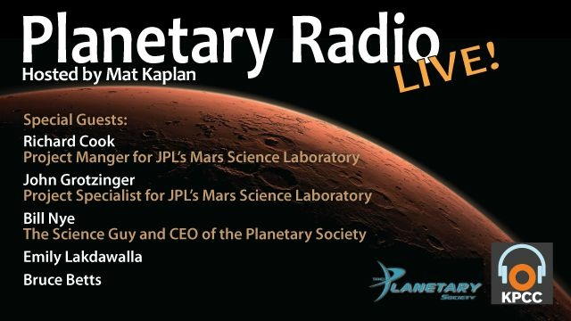 Discoveries on Mars are rolling in as Curiosity rolls across the planet's surface.  KPCC welcomes back the Planetary Society to celebrate the powerful rover and its spectacular mission with the leaders of the Curiosity team at JPL.