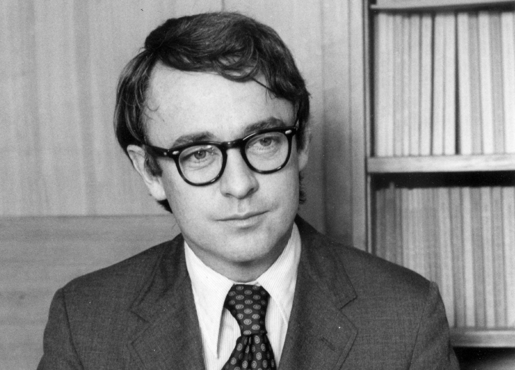 In this 1972 file photo, Harvard government professor James Q. Wilson is shown in Boston.