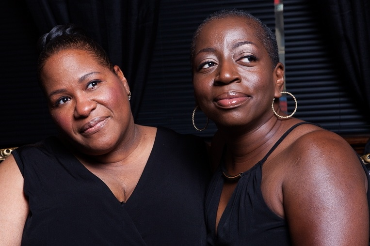 Saundra Williams (L) and Starr Duncan Lowe form the duo Saun and Starr. Their new album is