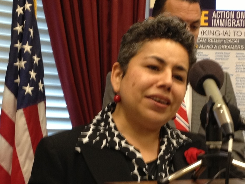 Clarissa Martinez-De-Castro of the National Council of La Raza was one of the immigration activists who tried to deliver a letter urging Speaker John Boehner to schedule an immigration vote.