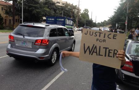 Walter DeLeon protest