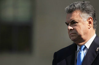 U.S. Rep. Peter King (R-NY) attends a news conference promoting the' 9/11 Health and Compensation Act' on September 8, 2010 in New York City.