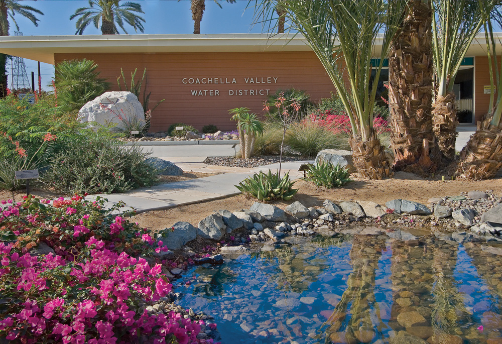 Coachella Valley Water District offices.