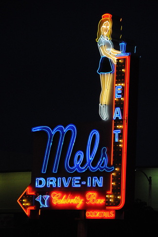 The Felix Chevrolet Dealership on S. Figueroa Street is one of many iconic signs in Los Angeles. What's yours?