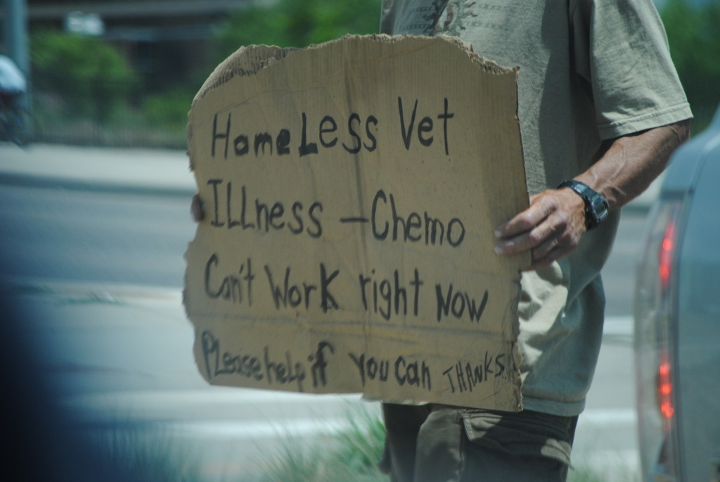 Veteran homelessness is down 18 percent in latest official figures.