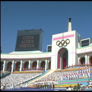 OPENING CEREMONY LOS ANGELES OLYMPICS 1984