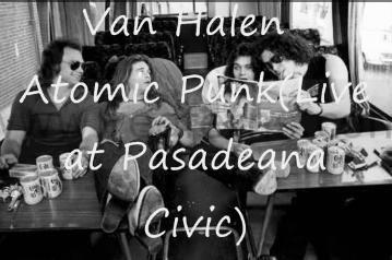 Did you see Van Halen in '77 or earlier?
