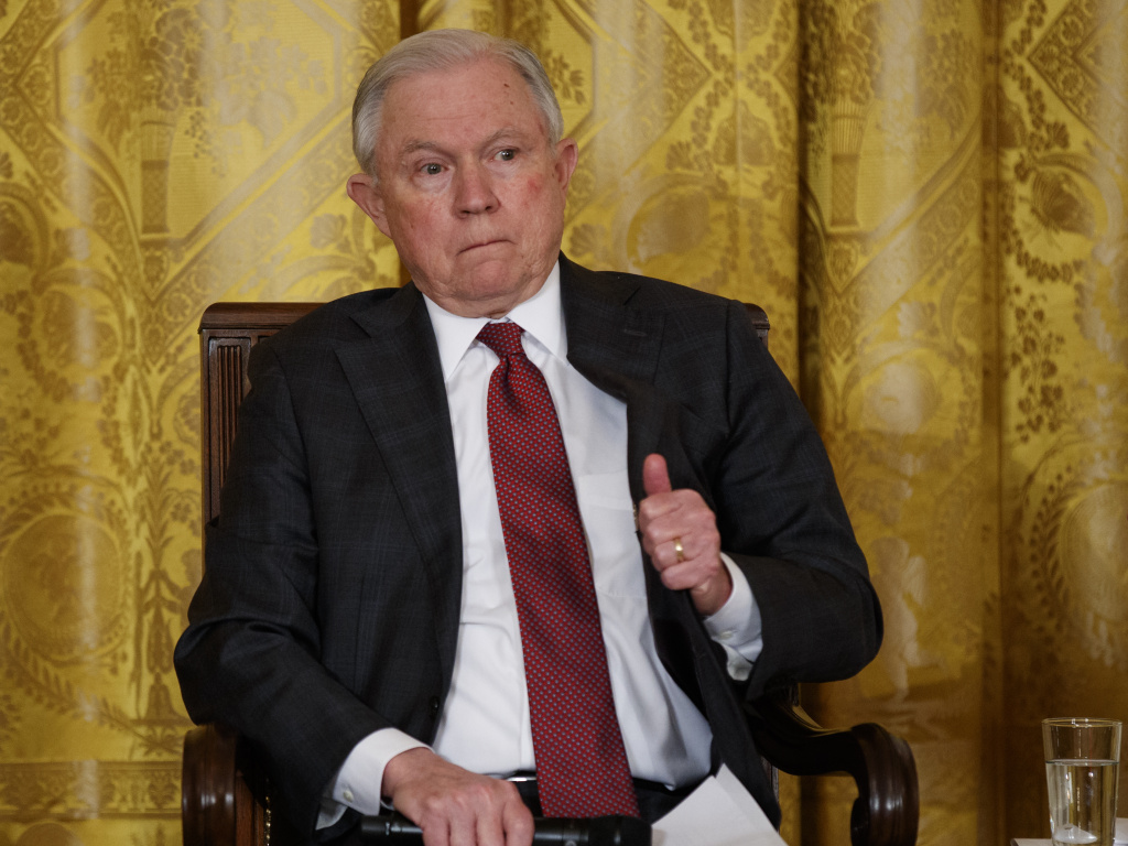 Attorney General Jeff Sessions announced Saturday that the Justice Department is formally moving to ban the sale or manufacture of bump stocks through regulatory action.